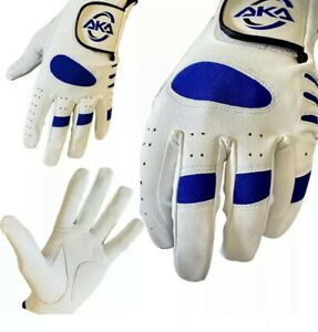 6 X MENS Golf Gloves with 100% Cabretta Leather Palm  Left Hands