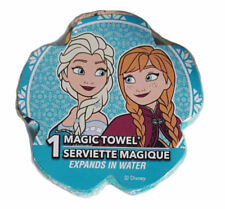 Frozen Anna and Elsa Magic Face Washer Flannel Towel Children Bath Cotton No.3