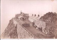 Photo 13x18 - Pic du Midi de Bigorre - Partie de Terrasse éboulée en 1924