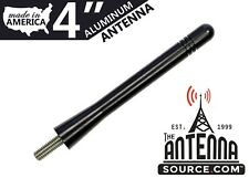 """**SHORT**  4"""" BLACK ALUMINUM ANTENNA - FITS: 2010-2017 Victory Cross Country"""
