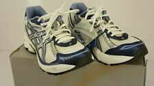 ASICS GT 2120 Running Shoes Womens White Silver Blue Size 5 SOLYTE