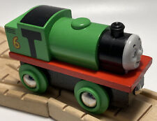 Vintage BRIO BRAND Thomas Wooden Railway Train Set Car Percy Britt Allcroft '90s