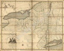 A map of the State of New York c1804 30x24