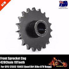428 Chain 19Teeth Front Sprocket Cog 4 GY6 Engine 125cc 150cc ATV Quad Go Kart