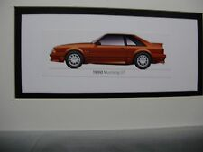 1990  Ford Mustang GT  From  50 Year Anniversary Exhibit by artist