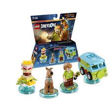 Lego dimensions scooby doo! Pack de l'équipe 71206 fast post great toy grande valeur