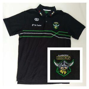Men Polo Shirt Australian NRL Canberra Raiders ISC The Traidies CFMEU Perfect  L