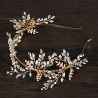 Wedding Crystal Tiaras Hair Accessories Headband Headpiece Delicate Headdress