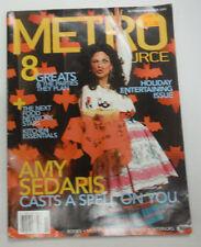 Metro Source Magazine Amy Sedaris November 2005 070815R