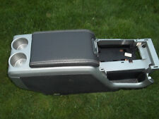 09 2010 2011 2012 2013 2014 FORD F150 BLACK FLOOR CENTER CONSOLE NO CUP HOLDER