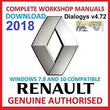 Renault Dialogys v4.72 2018 Downloadable version Multilanguage BEST ON EBAY