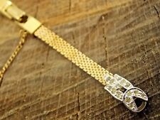 Kreisler Rolled Gold Plate NOS Vintage Watch Band Butterfly Clasp C-Ring Unused