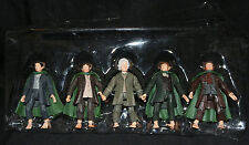 Lord of the Rings There and Back Again 5 Pack of Hobbits (Brand New but No Box)
