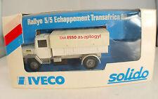 Solido n°3307 ◊ Iveco Rallye 5/5 Echappement Transafrica 80 ◊1:43 en boîte/boxed