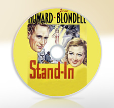 Stand-in (1937) DVD Classic Comedy Movie / Film Humphrey Bogart Leslie Howard