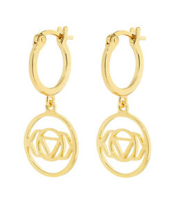 Daisy London Jewellery NEW! 18ct Gold Plated Brow Chakra Drop Earrings