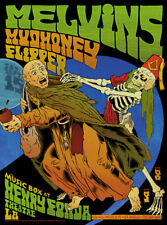 Mint Original Melvins Mudhoney Flipper Hollywood Show Poster #2 Chuck Sperry