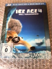 Ice Age 4 limited 3D/2D Blu Ray Steelbook with magnetic Lenticular Cover