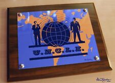 "The Man From U.N.C.L.E. 10.5"" x 13"" Altered or Original LogoCherry Plaque"