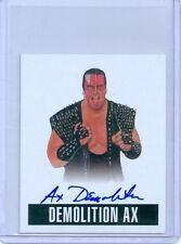 "DEMOLITION AX ""SP AUTOGRAPH CARD #A-DA1"" LEAF ORIGINALS WRESTLING 2014 WWE"