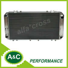 FOR TOYOTA MR2 AW11 1.6L 4CYL ALUMINUM  RADIATOR 84 85 86 87 88 89 MT MANUAL
