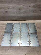 Lot Of 8  B-Line  SPLICE PLATES, 9ZN-8005 Plates Only