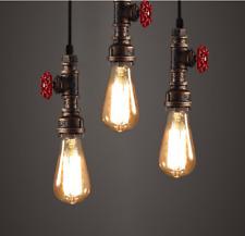 Industrial Pipe Light Fixture Rustic Antique Farmhouse Hanging Ceiling Pendant
