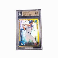 2016 Bowman Chrome Gold Refractors Corey Seager RC BGS 9.5 11/50 WS MVP!!!