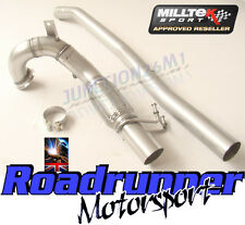 "Milltek VW Golf GTI MK7 2013 on 3"" Exhaust Decat Downpipe Connect Pipe SSXVW262"