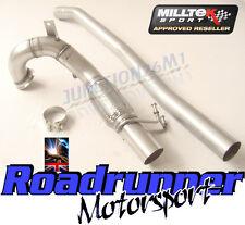"Milltek Golf R MK7 + MK7.5 & S3 8v Decat Downpipe Exhaust 3"" SSXVW264"