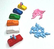 New ListingThe Game of Life Replacement Parts - 6 Cars & 40 People Pegs Pieces