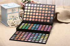180 Farben Lidschatten Palette Make-Up Kit Set Professionell Box