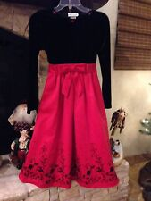 Rare Editions Girls Beautiful Holiday Dress Size 14 New