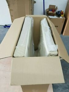PRIME M1000L 78 X 35 X 4 EXTRA FIRM FOAM MATTRESS WITH LEATHER COVERING