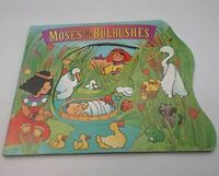 Jones, Sally Lloyd, Moses in the Bulrushes, Very Good, Board book