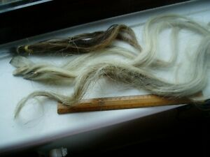 REAL HORSEHAIR ROCKING HORSE TAIL