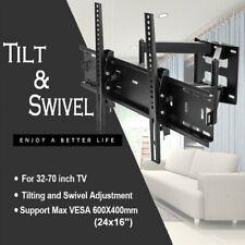 TV Wall Mount Swivel Tilt Bracket 32 42 47 51 55 60 65 70 75 80 inch Flat Screen