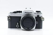 New listing  Nikon Fe Slr Film Camera Body Chrome #188