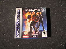 GAME BOY ADVANCE I FANTASTICI 4  GIOCO NINTENDO