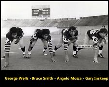 CFL 1972 Hamilton Tiger Cats Defense Angelo Mosca 8 X 10 Photo Picture