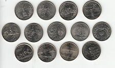 US State Quarters UNC coins Delaware-Rhode Island - multi listing - Post Free