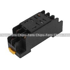 AC 220V DC12V Coil Power Relay 8Pin 10A DPDT LY2NJ HH62P HHC68A-2Z Socket Base C