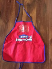 kids LOWE'S WORKSHOP APRON building tools CONSTRUCTION belt PROTECT CLOTHING