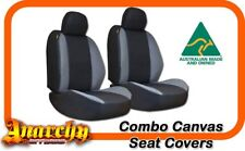 Front Black Panelled Canvas Seat Covers for FORD Kuga TF SUV 1/2013 on