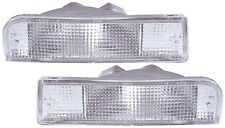 TOYOTA HILUX SURF/4-RUNNER 3 1991-1995 BUMPER FRONT INDICATORS - CLEAR
