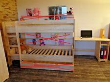 Hochbett  Kinderbett Etagenbett Kinderzimmer Bett Rollrost Massivholz ANGEBOT!!!