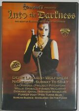 V/A - INTO THE DARKNESS VOLUME 3 ( DVD Nightclub 2006 ) Various EBM, Gothic*NEW*