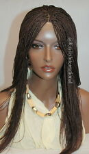 Fully hand braided lace front wig - Hannah color #33 in 18""