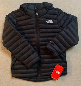 Boys The North Face Down Jacket.100% Aurhentic.Black.RSP£130.Size SB.Age 7-8