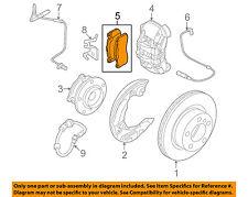 BMW OEM 08-10 135i Brake-Front Pads 34116786044